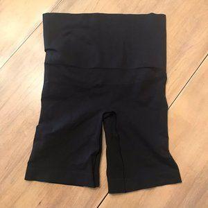 Yummie Tummie Spandex High Rise Shorts Size S/M